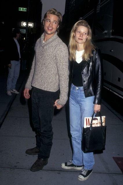 Gwyneth Paltrow - Jeans - Anos 90  - Primavera - Street Style
