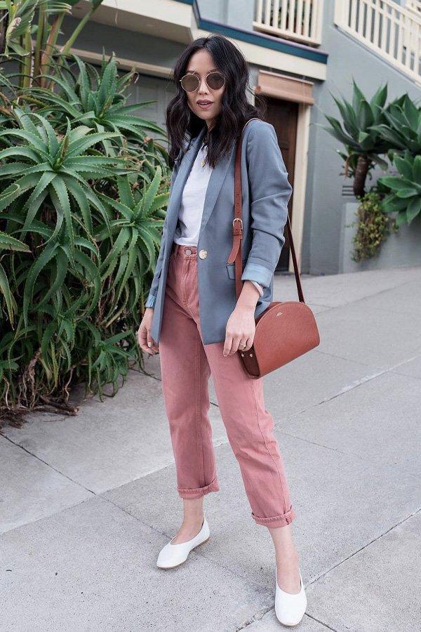 Kate Ogata - blazer - blazer colorido - verão - street style