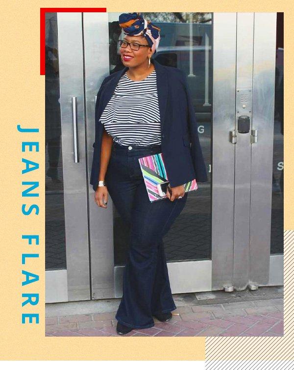 Kelly Augustine -       - jeans flare - verão - street style