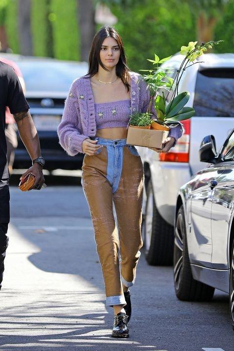 Kendall Jenner  - Cardigan - Cardigan  - Primavera - Street Style