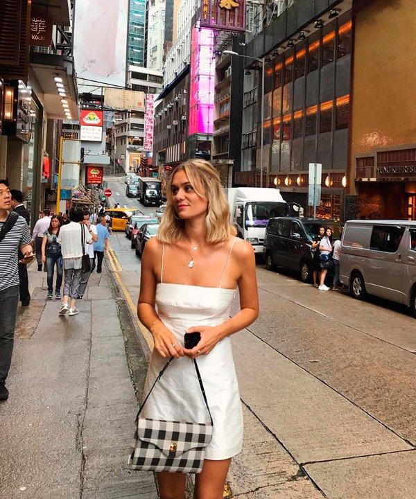 Anne Laure Mais - vestido-branco - vestidos - verão - street-style