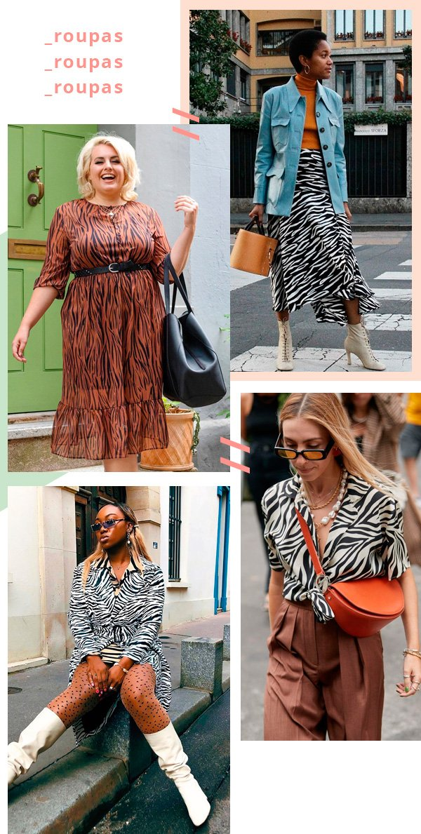it-girl - zebra - animal print - verão - street-style