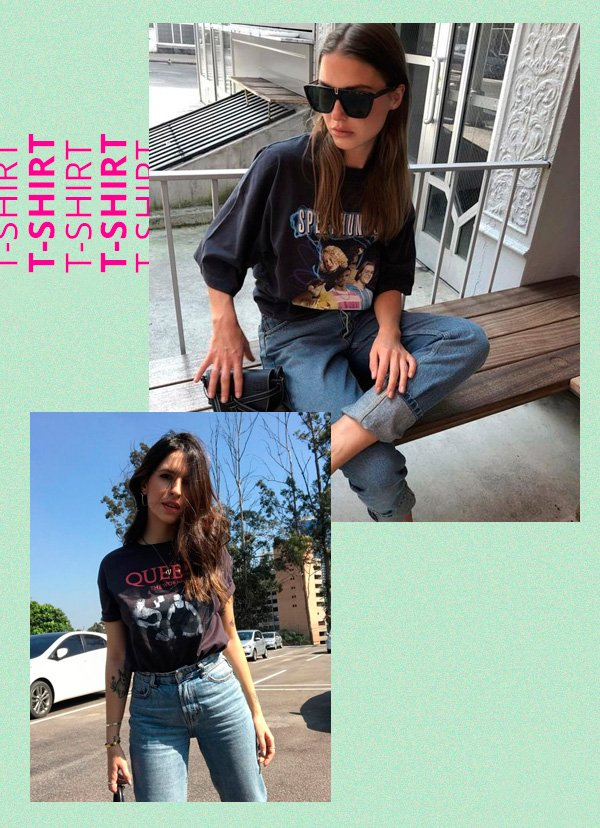 Vic Hollo - t-shirt - retrô - verão - street-style