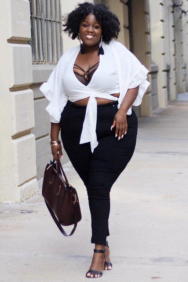 Peggy -      - calça preta - verão - street style