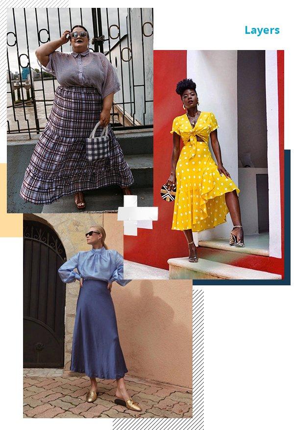 It girls - Saia - Layers - Primavera - Street Style