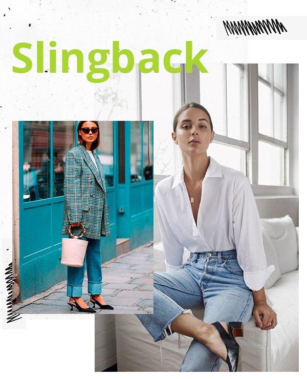 It girls - Slingback - Sapatos - Primavera - Street Style