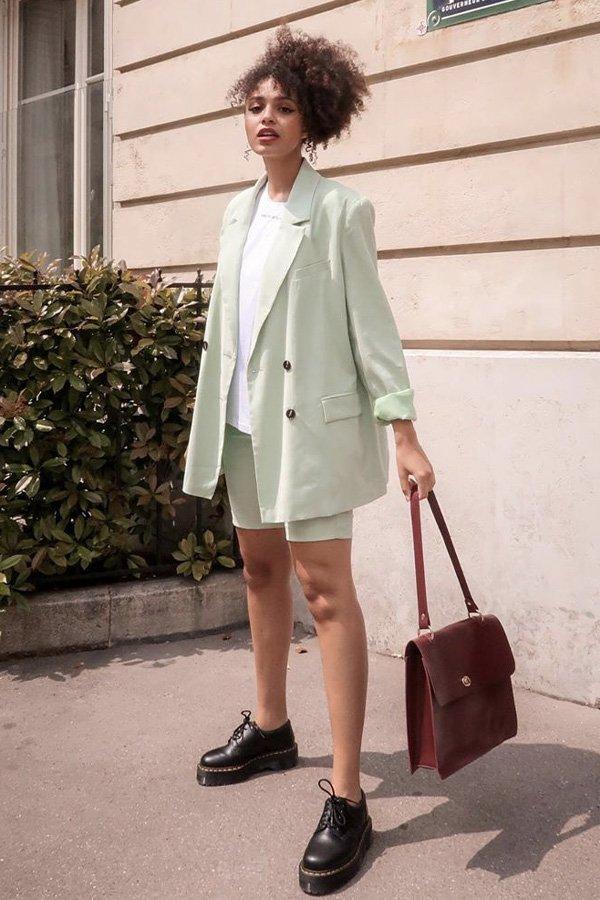 Syana Laniyan - blazer - blazer colorido - verão - street style