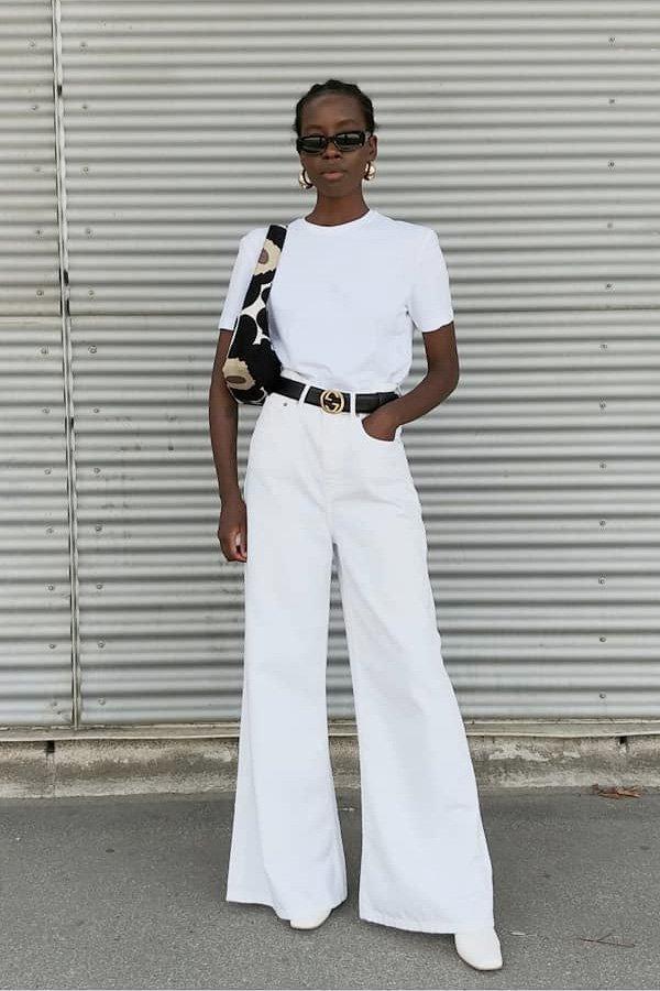 Sylvie Mus -      - all white - verão - street style