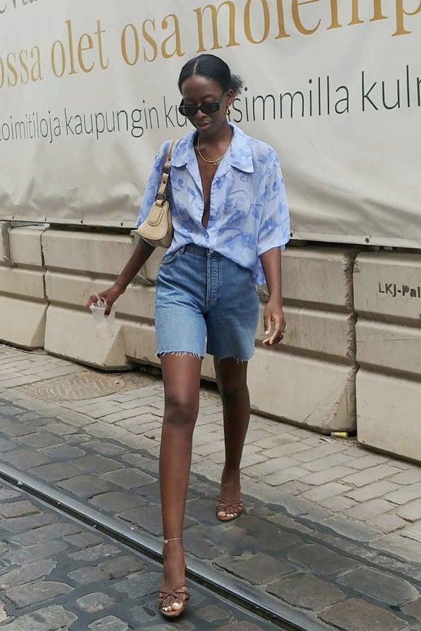 Sylvie Mus -      - shorts e bermudas - verão - street style