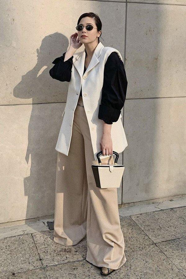 Victoria Yamagata -     - colete - verão - street style