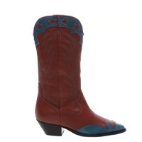 BOTA SCHUTZ GLAM WESTERN BROWN & COLOR