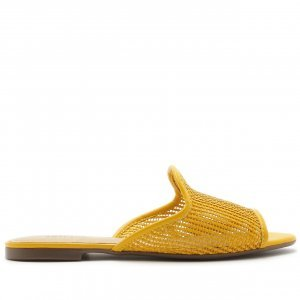 Mule Aberta Tressê Amarelo | Anacapri