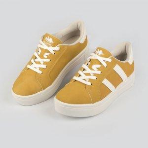 Tênis Dakota  Casual Flatform Amarelo