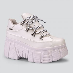 Dad Sneaker  Dakota Flatform Branco