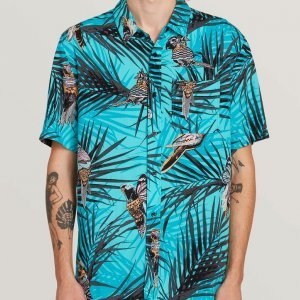 Camisa Manga Curta Party Bird Imp Chlorine - P