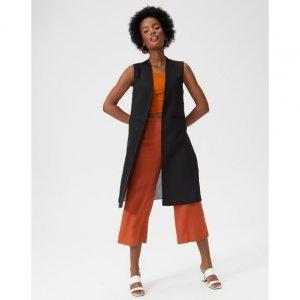 Colete Fashion Com 2 Tecidos