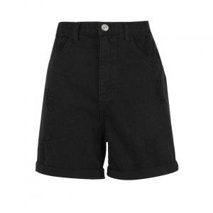 Shorts Sarja Com Rasgos