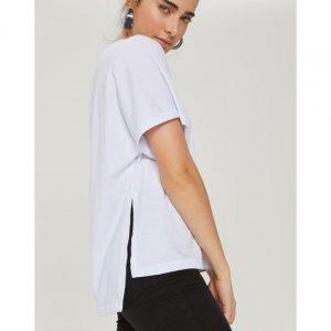 T-Shirt Ampla Abertura Lateral