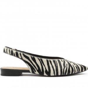 Sapatilha Slingback Zebra   Anacapri