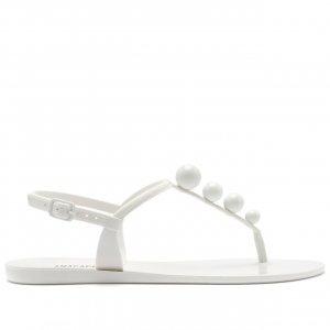 Sandália Bolinhas Branca | Anacapri