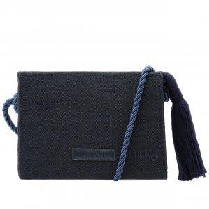 Crossbody Linho Azul Marinho | Anacapri