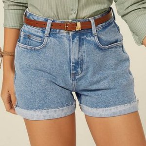 Shorts Jeans Base Pin Up Loose