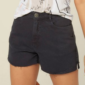Shorts De Sarja Base Pin Up Loose