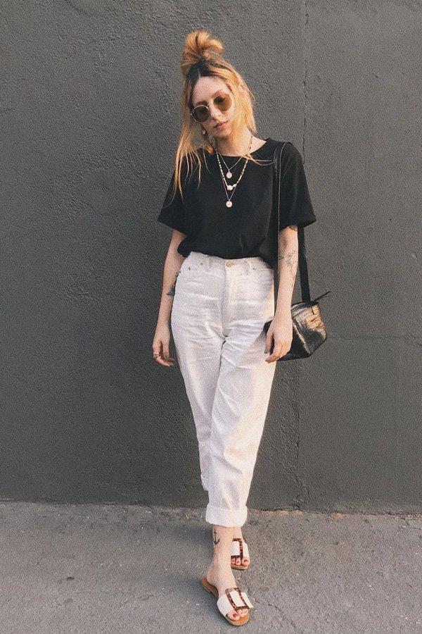Ali Santos - camiseta e calça - camiseta e calça - verão - street style