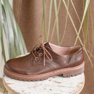 Sapato Tratorado Terra Café - 42 Marrom