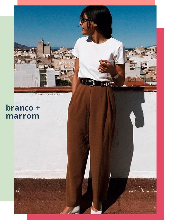 It girls - Alfaiataria - Branco marrom  - Primavera - Street Style