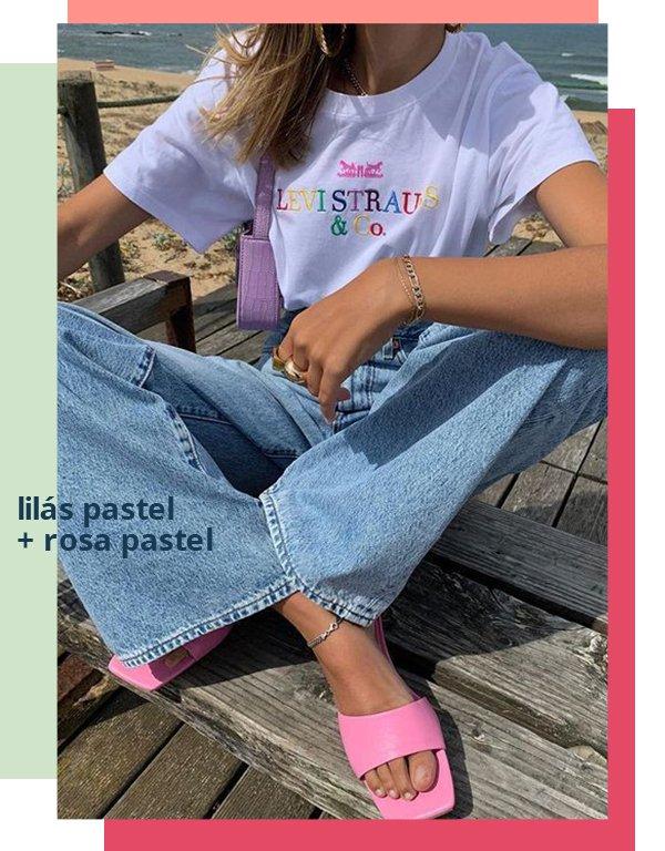 It girls - Jeans - Tons pastel - Primavera - Street Style