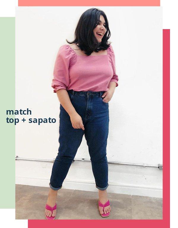It girl - Jeans - Top e sapato - Primavera - Street Style