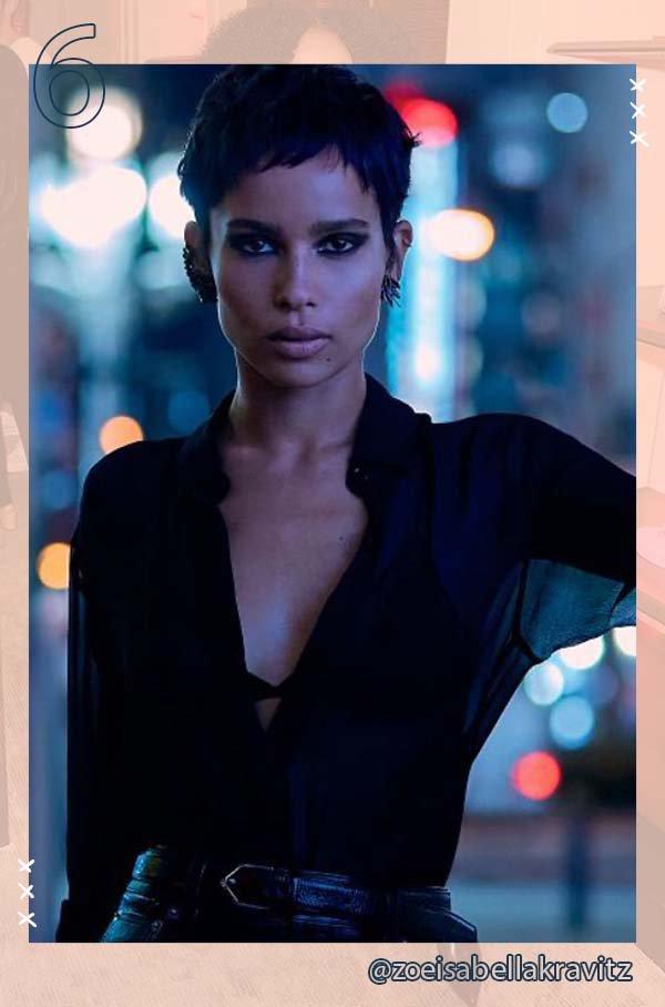 Zoe Kravitz - Cabelo - Cabelo - Primavera - Street Style