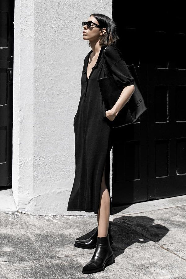 Kaitlyn Ham - vestido midi - vestido midi - verão - street style
