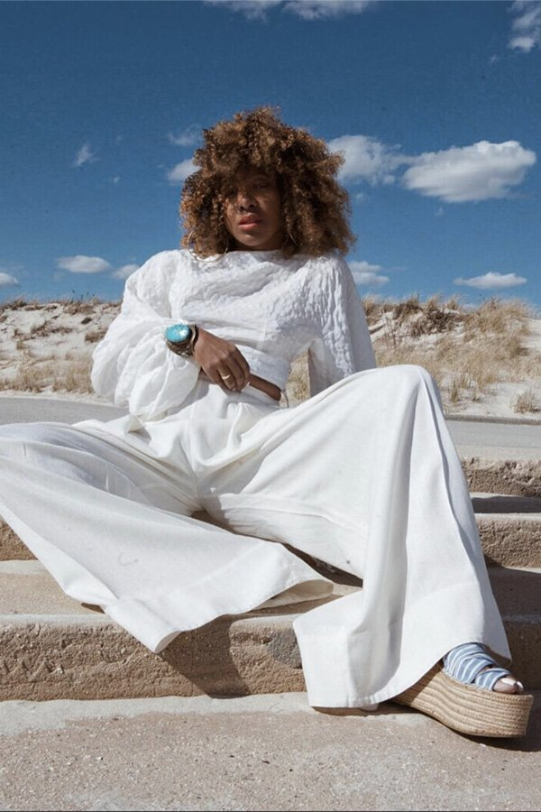 Karen Blanchard -      - sandalia de corda - verão - street style