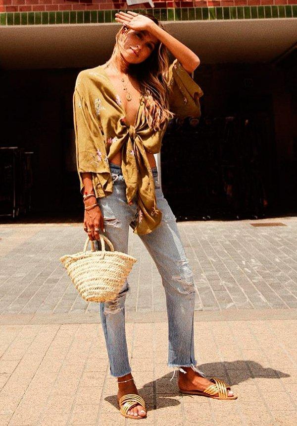 Julie Sarinana - jeans - jeans - verão - street-style