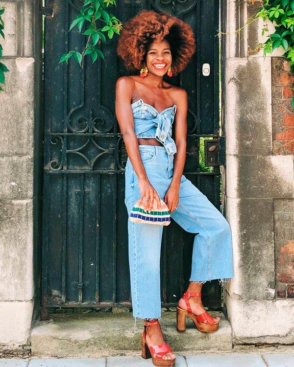 Frédérique Harrel - jeans - jeans - verão - street-style