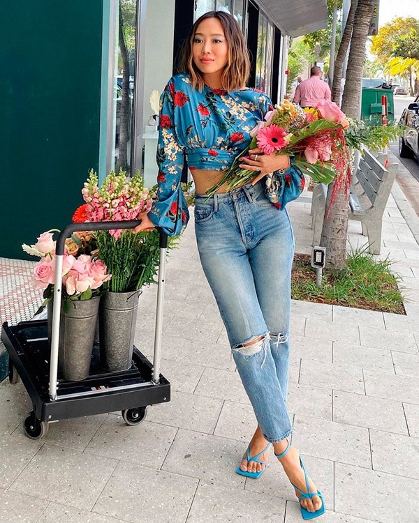 Aimee Song - jeans - jeans - verão - street-style