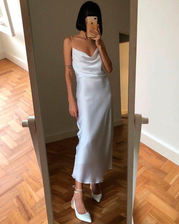 Nathalie Billio - slip-dress - slip-dress - verão - street-style