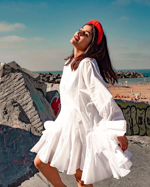Anum Bashir - vestido - vestidos - verão - street-style
