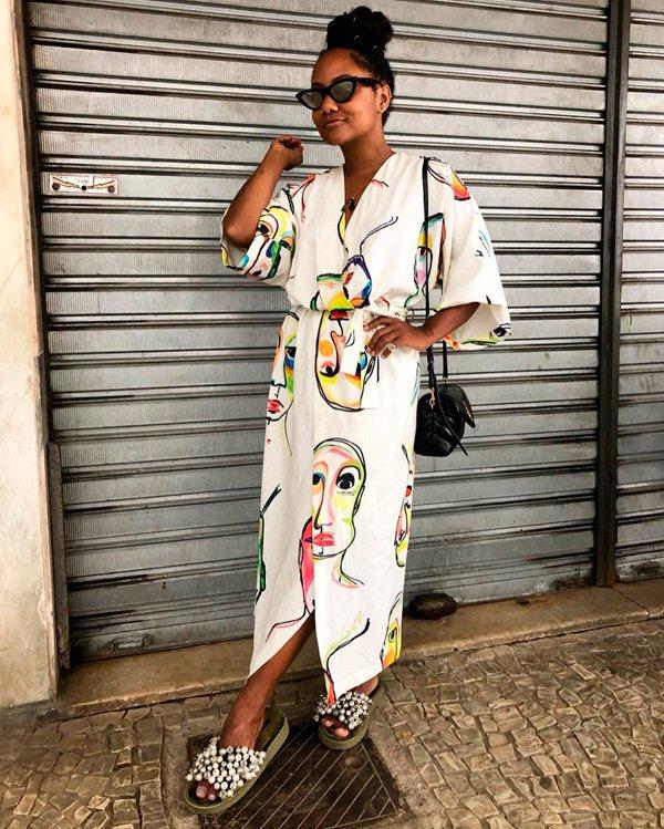 Luiza Brasil - vestido - vestidos - verão - street-style