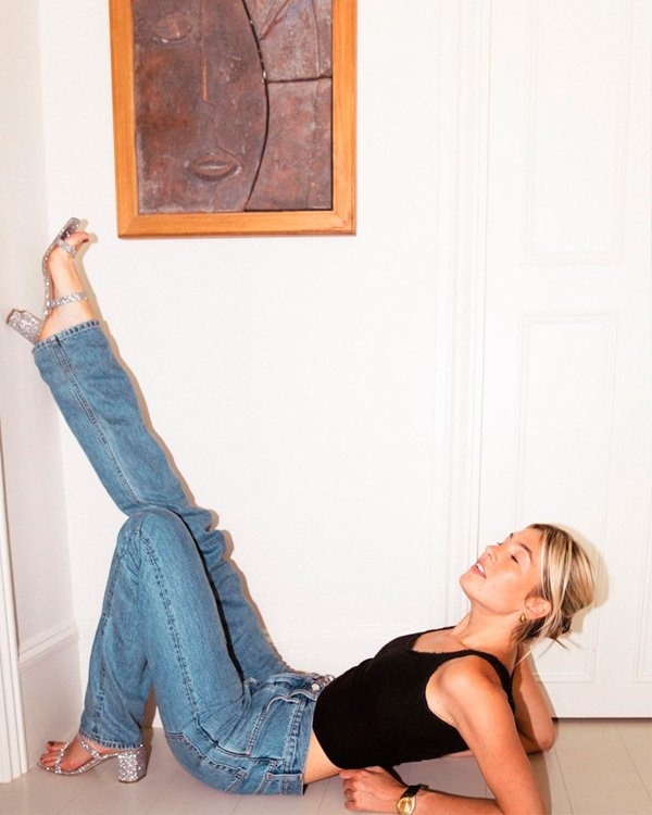 Camille Charriere - jeans - jeans - verão - street-style