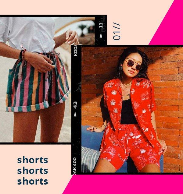 Peggy Gou - shorts - retrô - verão - street-style
