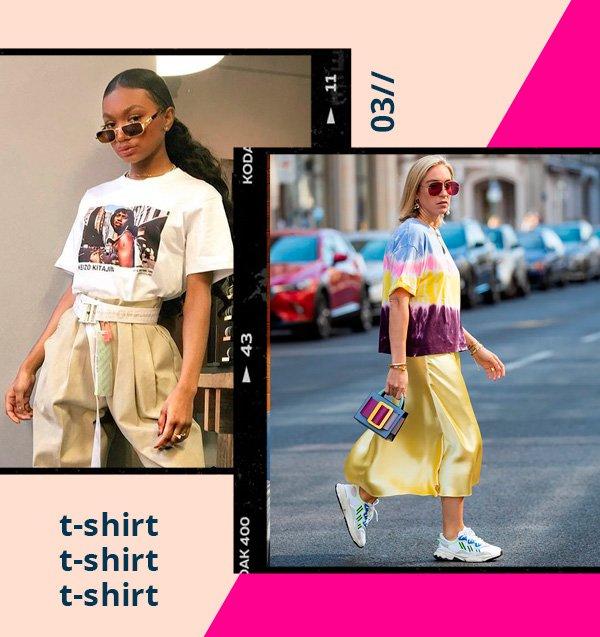 it-girl - tshirt - retrô - verão - street-style