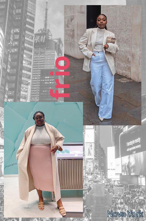 It girls - Reveillon - Frio - Verão - Street Style