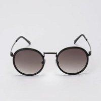 Óculos De Sol Round Acetato E Metal