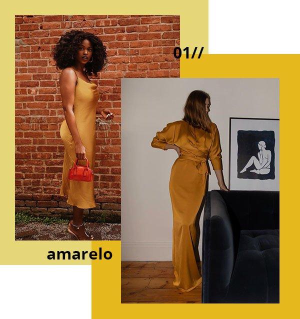 It girls - Amarelo - Amarelo - Verão - Ano novo