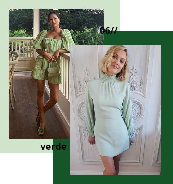 It girls - Verde - Verde - Verão - Street Style