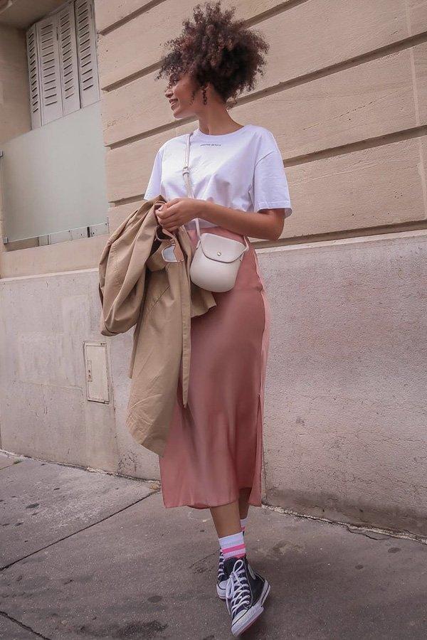 Syana Laniyan - saia midi - saia midi - verão - street style