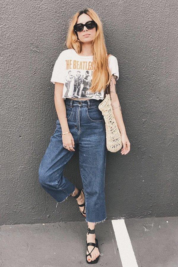 Ali Santos - jeans e flats - jeans e flats - verão - street style